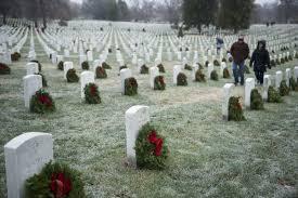 photos wreaths honor fallen at arlington national cemetery wgn tv