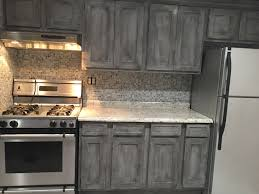 Revamp Kitchen Cabinets Annie Sloan Paris Grey With Black Wax On Kitchen Cabinets