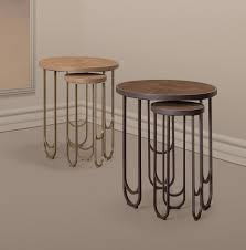 Leather Furniture Texture Su 25 Brass Table With A Leather Texture In Pink By 15 West Studio