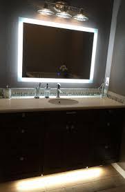wonderful ideas led mirrors for bathrooms bathroom cabinets