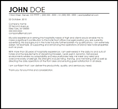 good cover letters for hospitality 45 for your doc cover letter