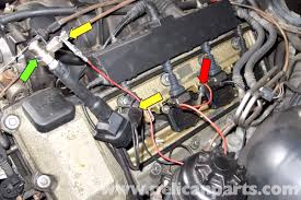 lexus es300 ignition coil location bmw e39 5 series spark plug coil replacement 1997 2003 525i