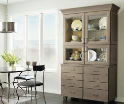 maple cabinets in a casual kitchen schrock