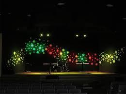 Church Stage Christmas Decorations Set Design Ideas Ini Site Names Www Answersland Com