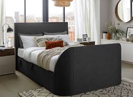titanium t3 tv bed frame stylish upholstered from dreams within tv