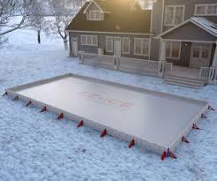 slip and slide hockey rink