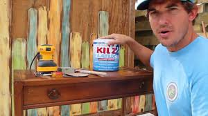 Wooden Furniture Paint How To Paint Distress Antique Furniture Project 3 Painted Blue
