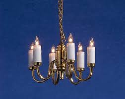 Colonial Chandelier Colonial Lighting Etsy