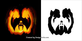 10 free halloween scary pumpkin carving stencils patterns