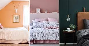 tendance chambre à coucher tendances couleurs 2018 chambre à coucher éco peinture