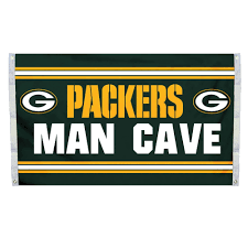 Packer Flags Nfl Man Cave Flags