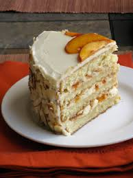 the cilantropist white chocolate layer cake with apricot filling