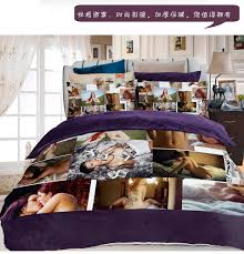 sexy bedroom sets coral fleece adult bedding set sexy quilt cover loves mens girls