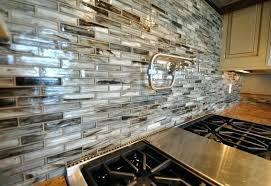 Kitchen With Glass Tile Backsplash Glass Backsplash Tile Ideas Glass Tiles White Glass Subway Tile
