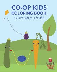 ozark natural foods coloring for a cause