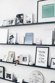 Ikea Ribba Picture Ledges Best 25 Ribba Picture Ledge Ideas On Pinterest Wall Shelves For