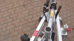 porta mtb auto rimorchio trasporto auto algema in alluminio