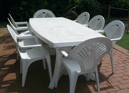 affordable patio table and chairs plastic outside table and chairs plastic round patio table brown