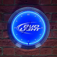 bud light neon light budweiser beer bud light neon clock icon neon