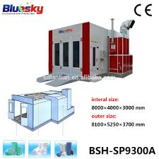 Spray Booth Ventilation System Used Car Paint Booth Infrared Heat Lamp For Auto Body Spraybooth