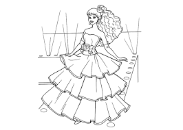 barbie wedding coloring pages printable gekimoe u2022 42139