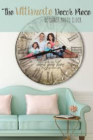 personalized wedding clocks best 25 photo clock ideas on picture wall clocks