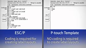 label printing templates print labels easily with p touch