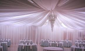 wedding decorations ceiling drapes decor the ceiling draping