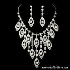 swarovski necklace set images Bridal necklace sets wedding crystal bella jpg