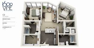1 Bedroom Loft Apartments by 2 Bedroom Loft Apartments Los Angeles Designer 2 Bedroom Loft