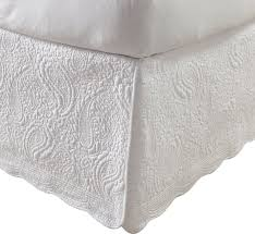 josephine quilted bed skirt reviews birch