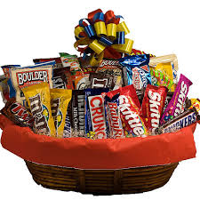 food baskets s day junk food basket