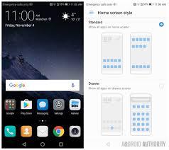 huawei designs app huawei p9 emui 5 screen 35 1 gui lockscreen homescreen with