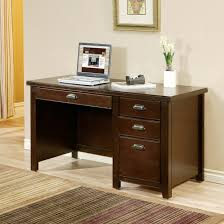 furniture black desk and cabinet made of wood by kathy ireland