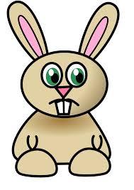 sad bunny clip art at clker com vector clip art online royalty