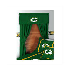 Green Bay Packers Window Curtains Green Bay Packers Window Curtains Window Treatment Imposing Design
