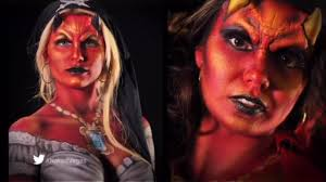 body painting halloween costumes vegas body art body paint youtube