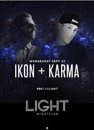 Light Night Club Ikon Karma At The Light Vegas