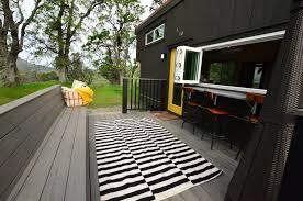 224 square feet tiny house trailer exteriors tours small house
