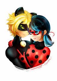 ladybug and chat noir by eurekarysuje on deviantart