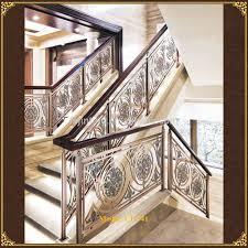 Metal Banisters Stairs Modern Stair Railing For Cool Interior Staircase Design