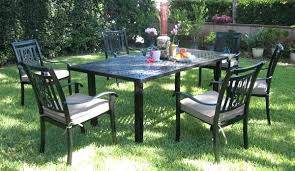 Outdoor Furniture Reviews by Patio Rosedown 7 Piece Cast Aluminum Patio Furniture Set Cast
