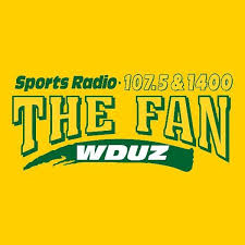 1440 the fan green bay sports radio 107 5 1400 the fan wduz am 1400 green bay wi