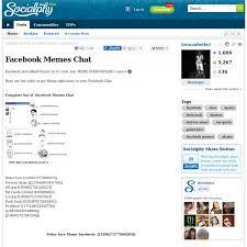 Facebook Chat Meme Codes - memes facebook chat 28 images memes no chat do facebook memes