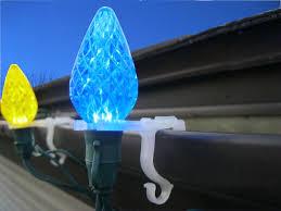 christmas light gutter hooks amazon com adams christmas 9040 99 1630 all purpose light holder