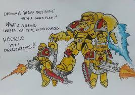 Angry Marines Meme - angry marines grimdank