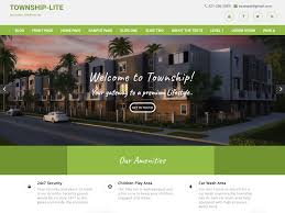 Free Wordpress Real Estate Templates by Township Lite U2014 Free Wordpress Themes