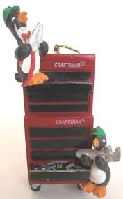 sears craftsman chain saw collectible miniature ornament