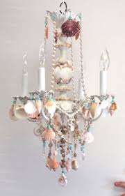shell ceiling light decorations stunning creations seashell chandelier for your home