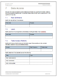 database design document ms word template ms excel data model